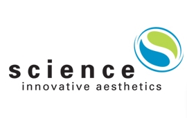 Science Innovative Aesthetics logo and branding